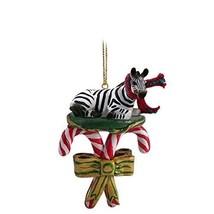 Conversation Concepts Zebra Candy Cane Ornament - $12.99