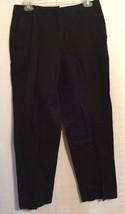 Kim Rogers Womens Size 8 Navy Blue Cotton Twill Pants - $19.79
