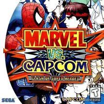 Marvel vs. Capcom: Clash of Super Heroes Sega Dreamcast Game Complete - $54.95