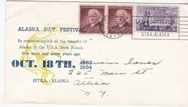 ALASKA DAY FESTIVAL SITKA ALASKA OCTOBER 18 1954 - $1.78