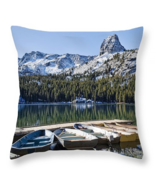 Lake George and Crystal Crag, Throw Pillow, sea... - $41.99 - $69.99