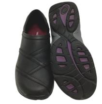 Merrell Jovilee Lattice Womens Sz 7 Comfort Walking Shoes Black Leather ... - $58.40
