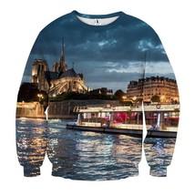 Brilliant Night Lake View Cool Sweatshirt - $36.99