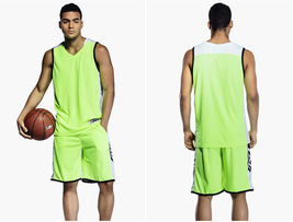 Plus Size Sets Uniforms Sports clothing Breathable basketball jerseys sh... - $25.99