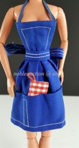 Barbie PAK What's Cookin Blue Apron and Potholder 1964 - $9.90