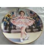 """SHIRLEY TEMPLE 8"""" Collector's Plate DANBURY MINT """"Stand Up and Cheer""""  - $8.00"""