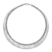Graduated Snake Chain Necklace in Sterling Silver - $154.70