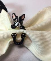 Kate Spade Frenchie ma chérie antoine French Bulldog Ring, Sz. 7 W/ KS Dust Bag - $42.99
