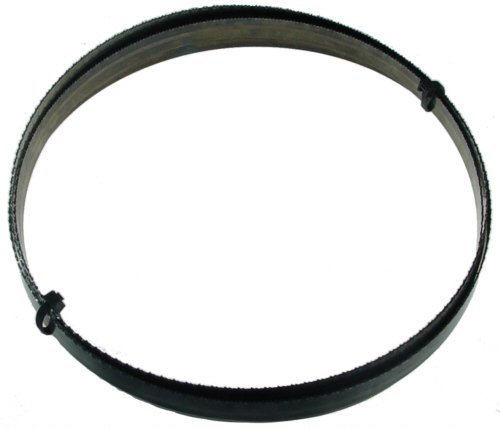 "Primary image for Magnate M123C38H3 Carbon Steel Bandsaw Blade, 123"" Long - 3/8"" Width; 3 Hook Too"