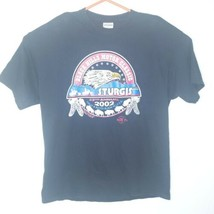 Sturgis T Shirt Black Hills Motor Classic 62nd Annual 2002 Mens Size XL - $5.95