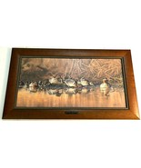 DU Wild Wings Scot Storm Emerald Waters Green Winged Teal Print Canvas 9... - $1,876.05