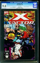 X-Factor #72 1991- CGC Graded 9.8 White Pages- 0908512006 - $66.69