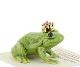 Birthstone Frog Prince October Simulated Tourmaline Miniatures by Hagen-Renaker image 5