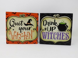 Ashland Halloween Wooden Box Sign - New - $12.99