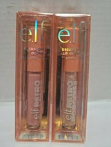 ELF Dream On Lip Gloss Lot Of 2 Tropical fruit punch / A moment - $12.86