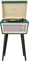 Sterling Mid Century Modern Green & Cream Stereo Record Player Turntable MCM New image 2