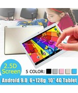 Tablet 10 inch PC Camera Android 7 MicroSD 128GB Multilanguage IPS Displ... - $103.03