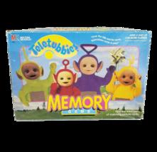 VINTAGE 1998 TELETUBBIES MEMORY MATCHING CARD GAME IN BOX MILTON BRADLEY... - $24.31