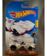 2017 Hot Wheels #123 Street Beasts 5/10 PURRFECT SPEED White w/Purple OH... - $9.50