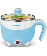 Electric Hot Pot 1.5L, Rapid Noodles Cooker, Mini Pot, Cook Perfect for ... - $37.48