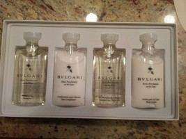 ASIAN AIRLINES BVLGARI EXCLUSIVE GUEST COLLECTION 4 Bottle Set - $37.08