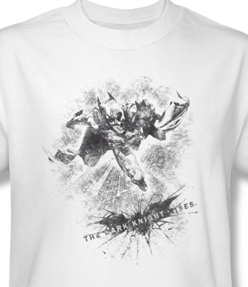 06eaf11e0 Dc comics batman the dark knight rises for sale online white graphic tee  bm2106 at
