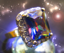 HAUNTED RING ALEXANDRIA 'S FINALLY NO MORE WAITING HIGHEST LIGHT OOAK MA... - $10,777.77