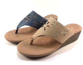 A2 by Aerosoles Airflow Wedge Slip On Thong Sandals Choose Sz/Color - $54.00