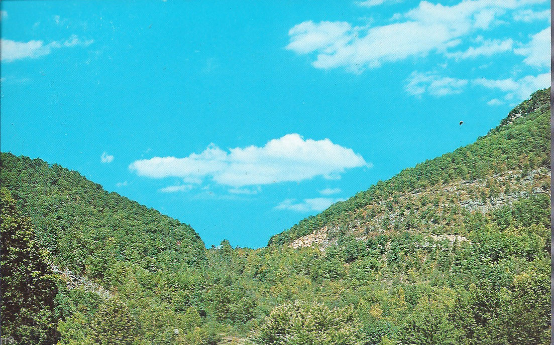 Primary image for Cumberland Gap, seen from Tennessee -  National Historical Park Postcard