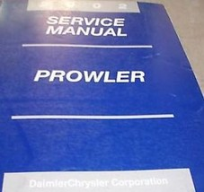 2002 Plymouth Prowler Service Repair Shop Manual 2002 Factory Dealership Books - $30.69