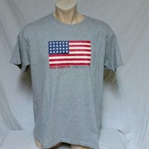 VTG Ralph Lauren Polo Jeans Co T Shirt 90s Flag Spell Out Tee RLX Cookie... - $27.99