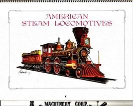 American Steam Locomotives - $4.95