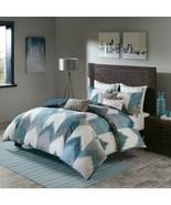 Ink + Ivy Full/Queen Alpine 3 Piece Comforter Mini Set Pine, Cotton Blue... - $79.19
