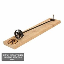 BBQ Fans Circle K Branding Iron for Steak, Buns, Wood & Leather | Includes Redwo