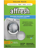Affresh Washing Machine Cleaner, 6 Tablets | Cleans Front Load and Top L... - $16.99