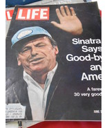 Great Vintage LIFE Magazine June 25, 1971 SINATRA SAYS GOOD-BY AND AMEN - $12.46