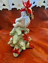 1994 Dreamsicles Christmas Cherub On Christmas Tree Signed Figurine Cast Art image 4