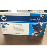 HP LaserJet CP3525 CM3530 Cyan Toner BRAND NEW OEM SEALED CE251A - $54.99