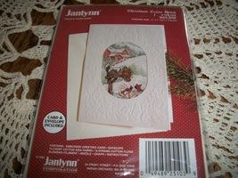 Janlynn Christmas Cross Stitch Kit 125-103~Mailbox Greeting Card - $10.00