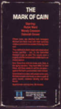 Mark of Cain Vhs image 2
