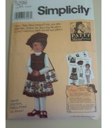 2003 SIMPLICITY Pattern #5296 PATTY REED Design KEESHA Jumper HAT Bag AA... - $6.88