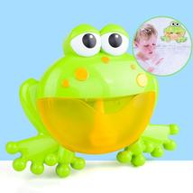 Cartoon Frog Electric Bubble Blower Machine Music Play Interactive Kids ... - $23.99