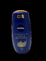 Nivea Creme & Oil Pearls Scent of Lotus Body Shower Cream 250ml - $12.19