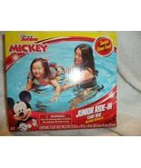 Disney Junior Mickey Mouse Swim Junior Ride in Float Seat Pool Beach poo... - $12.50