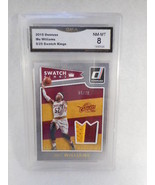 2015 Donruss #5 Mo Williams Swatch Kings GMA Graded 8 - $6.92