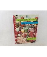 Favorite Recipes of American Home Economic Teachers Meats Edition - $7.36