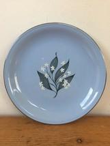 """Vtg Homer Laughlin Skytone Stardust Sky Blue Dessert Saucer Plate K55NB 6.25"""" - $11.99"""