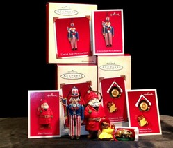 Hallmark Handcrafted Ornaments AA-191785 Collectible (4 Pieces ) - $39.95