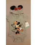 DISNEY BABY Girls' Minnie Mouse New 0-3 mo 1 PC with Hood Mouse Ears Hal... - $11.87