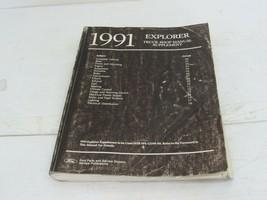 1991 Ford Explorer Truck Repair Manual Supplement - $14.50